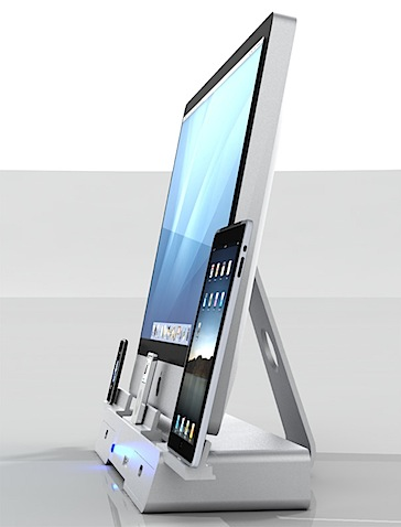 El Dock perfecto seria uno para iMac, iPad e iPhone conjuntamente