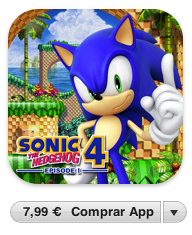 Sonic The Hedgehog 4 disponible también para el iPad