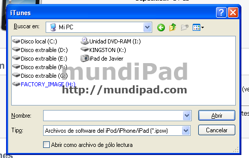 Instalar iOS 4.2 GM 2 en el iPad