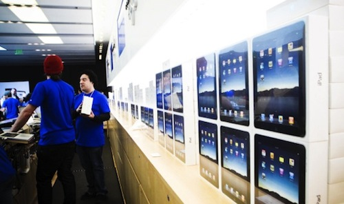 Las Apple Stores vendieron 8,8 iPads cada hora en el Black Friday