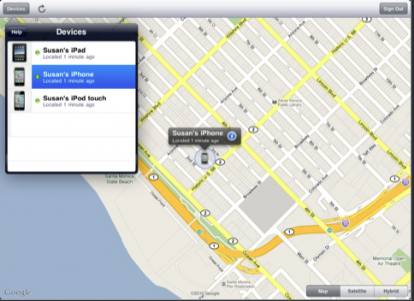 Nueva actualización de Find My iPhone