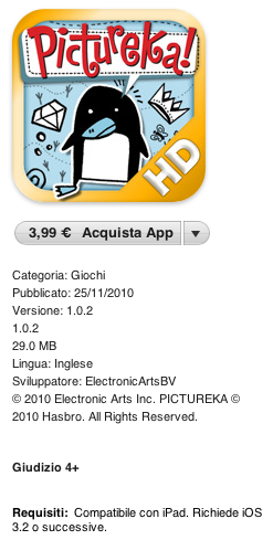 Pictureka! HD - IPAD EA trae un divertido juego de mesa [REVIEW]