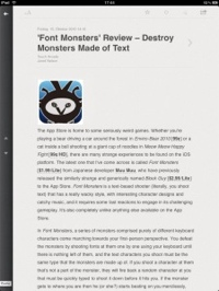 Reeder for iPad: a review