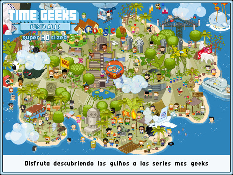 Regalamos el juego Time Geeks Find All! HD