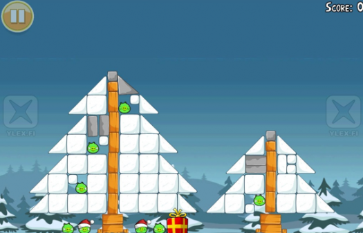Rovio confirma Angry Birds Christmas