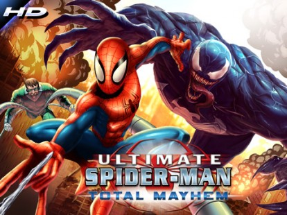 """Spider-Man: Total Mayhem HD"" disponibile su AppStore"