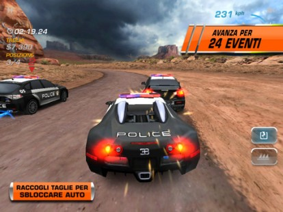 Need for Speed: Hot Pursuit también está en el IPAD