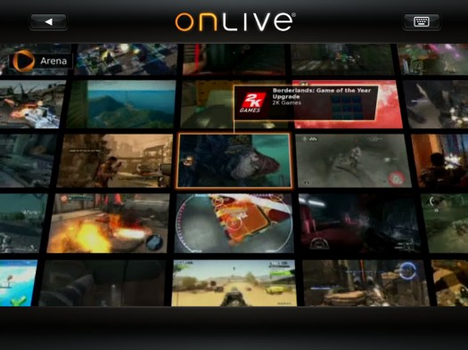 OnLive ya disponible para el iPad… con un pero