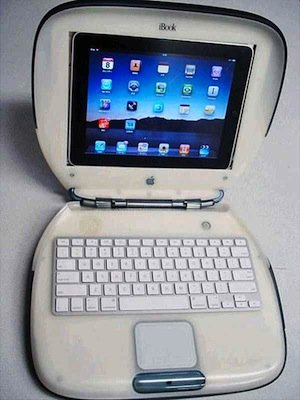 Reciclando un iBook Clamshell