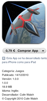Red Nova para iPad, Review y PROMO CODES