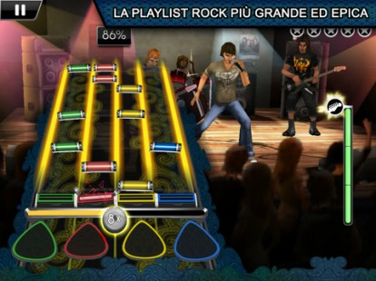 Rock Band también Reloaded IPAD