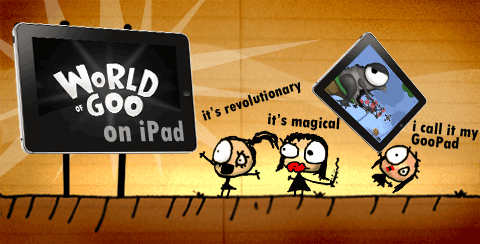 World of Goo para el iPad en Navidades