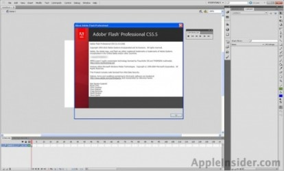 Adobe lanza Flash CS 5.5 con soporte para IPAD