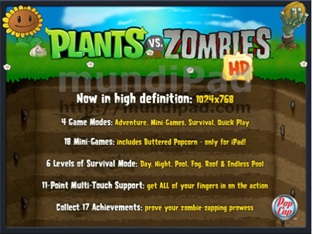 Plants Vs Zombies se actualiza con soporte para GameCenter