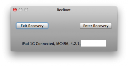 RecBoot 2.1 para Mac disponible para descargar