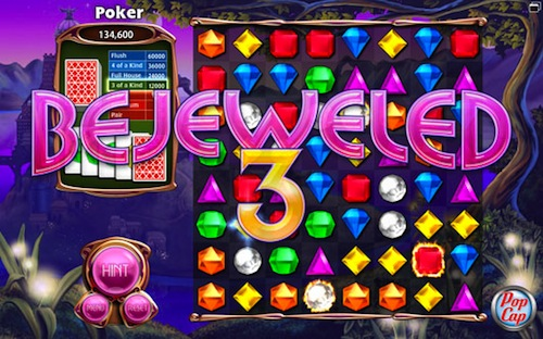 Bejeweled 3 estará disponible para el iPad y el iPhone