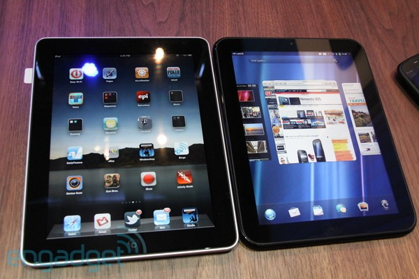 Comparativa fotográfica: HP TouchPad vs iPad