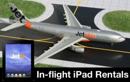El IPAD Jetstar Airways traerá a bordo de aeronaves