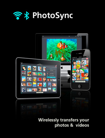 Transferencia de fotos y vídeo en inalámbrico PhotoSync