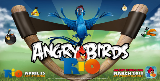 Angry Birds Rio ya disponible en la App Store