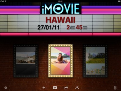 Apple lanza iMovie IPAD 2!