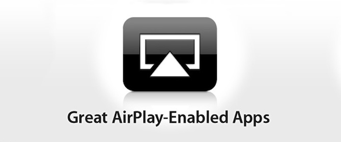 Apple lanza una sección en la App Store para apps con AirPlay