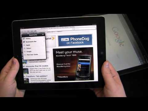 Comparativa: iPad 2 vs Motorola Xoom