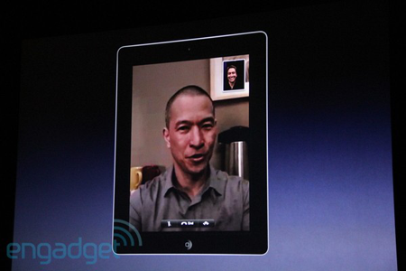 Facetime en el iPad 2