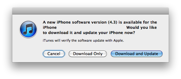 iOS 4.3 ya disponible para tu iPad