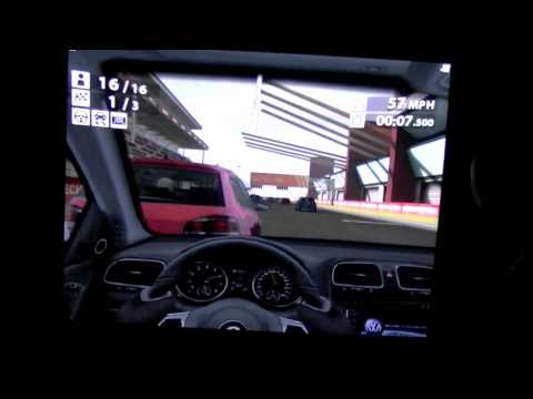 Primer vídeo de Real Racing 2 HD en el iPad 2