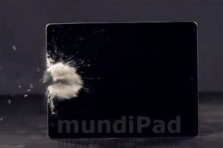 Slow Motion disparando a un iPad 2