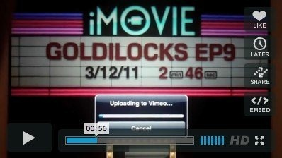 Ya disponible la primera película editada con iMovie en el iPad 2