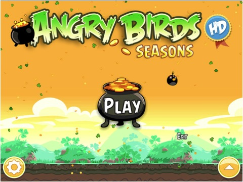Ya está disponible la actualización de Angry Birds Seasons HD