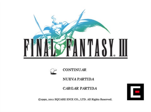 Final Fantasy III ya disponible para el iPad