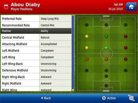 Football Manager llega al iPad