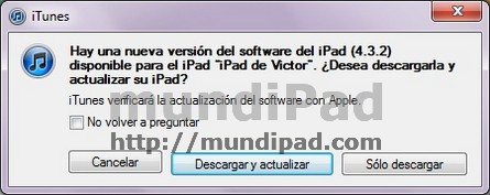 iOS 4.3.2 disponible para descarga