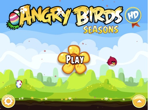 La actualización de Angry Birds Seasons HD ya está disponible