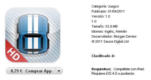 Nano Rally HD para iPad