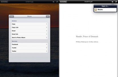 BlueNube: CloudApp cliente IPAD
