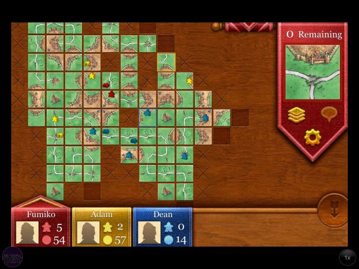 Carcassonne se actualiza con soporte para Game Center