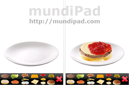 Crea tus hamburguesas con Make Burgers HD para iPad