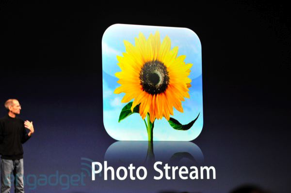 "Apple muestra ""Photo Stream"" en el WWDC 2011"