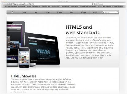 HTML5.com adquirida por Apple