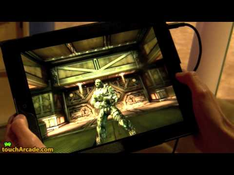 Shadow Gun, primer vídeo ingame en el iPad 2
