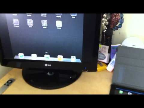 [Video] AirPlay Display Minorring de iOS 5en acción