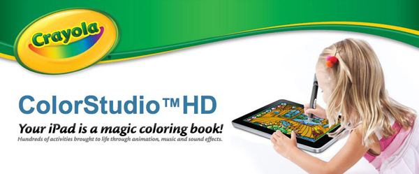 Ya está disponible el lápiz Crayola ColorStudio HD para el iPad