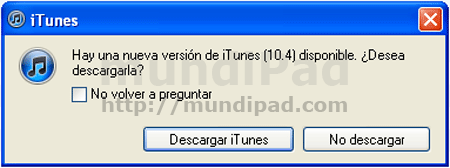 iTunes se actualiza a la versión 10.4 para Windows