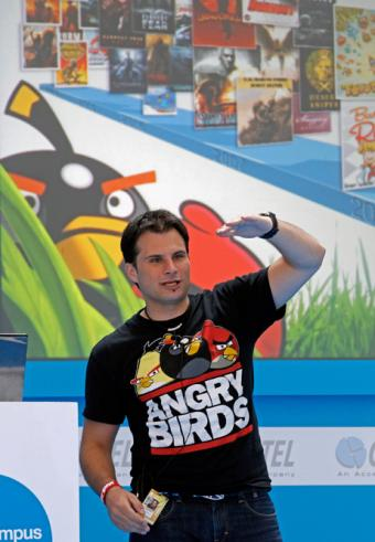 "Las claves del éxito de ""Angry Birds"" en la Campus Party de Valencia"