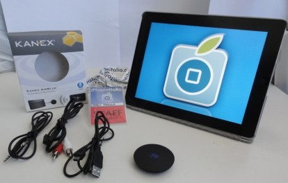 Bluetooth de audio del receptor Kanex Airblue iPad