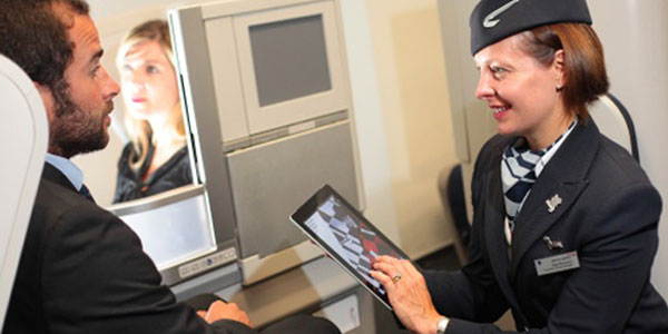 British Airways se suma a la era del iPad